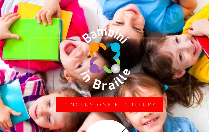 Bambini in braille